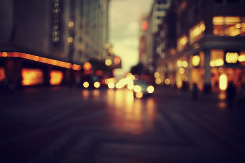 bright city lights. by wisesparrow