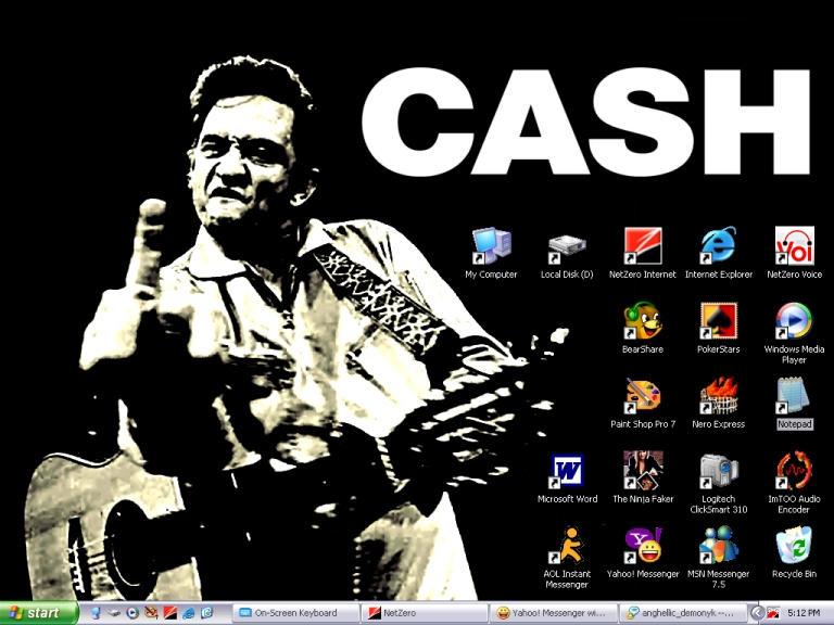 Johnny Cash Desktop By JuggaloShangriLa On DeviantArt