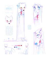character concept | ekki by cherrilu