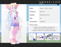 Poke-Life | A M A U R A by cherrilu