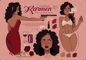 Karmen McCarter | REFERENCE by cherrilu