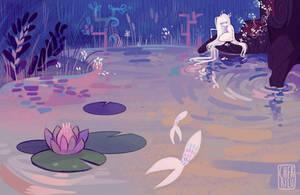 Ekki Lake Setting Concept by cherrilu