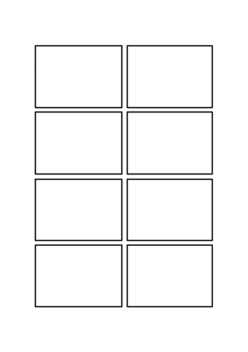 four panel comic strip template - blank 4 koma comic by bnnm040 on deviantart