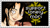 Support LonelyMori Stamp by weskerian