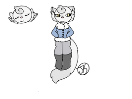 Snow Kitty {Mystery Adopt Reveal} by Paint-is-Trash