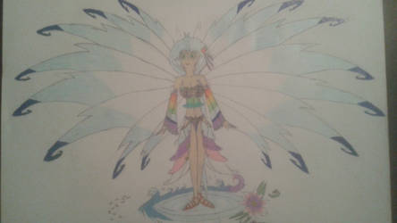 Princess Sakura (Rough Sketch w/ color)