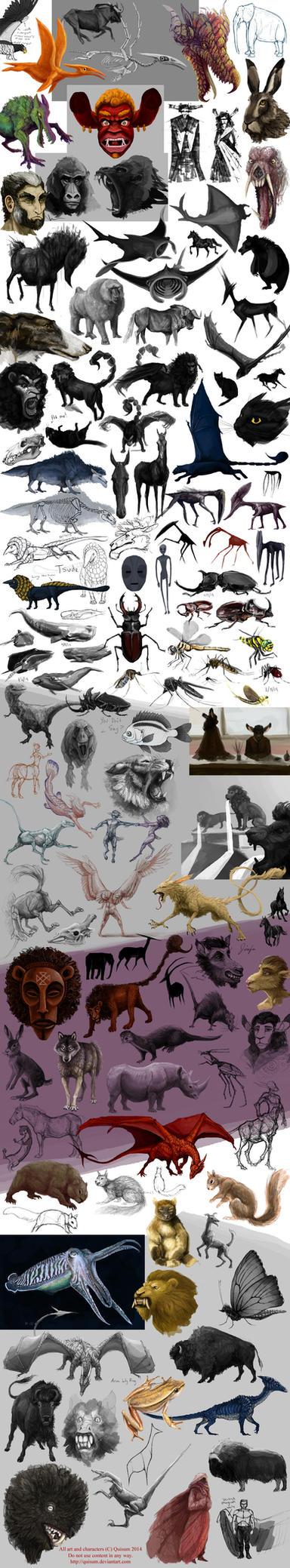 Creature Dump 4 by Quisum