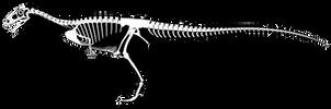 Deltadromeus agilis SGM-Din2 Reconstruction by PWNZ3R-Dragon