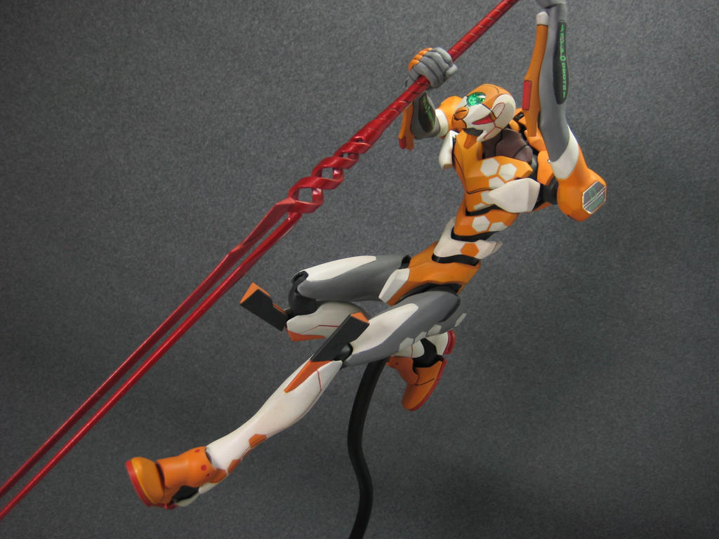 Bandai Eva Unit 00 7 by fritzykarl