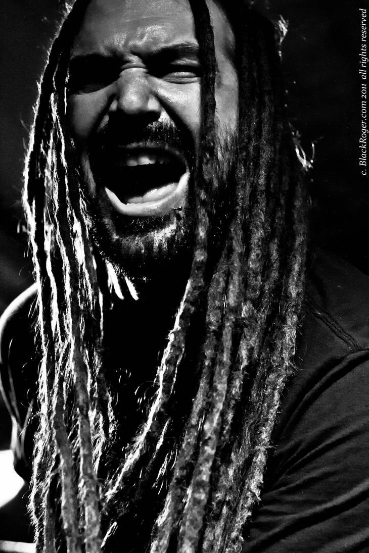Dred Black Scream by ScottDouglass