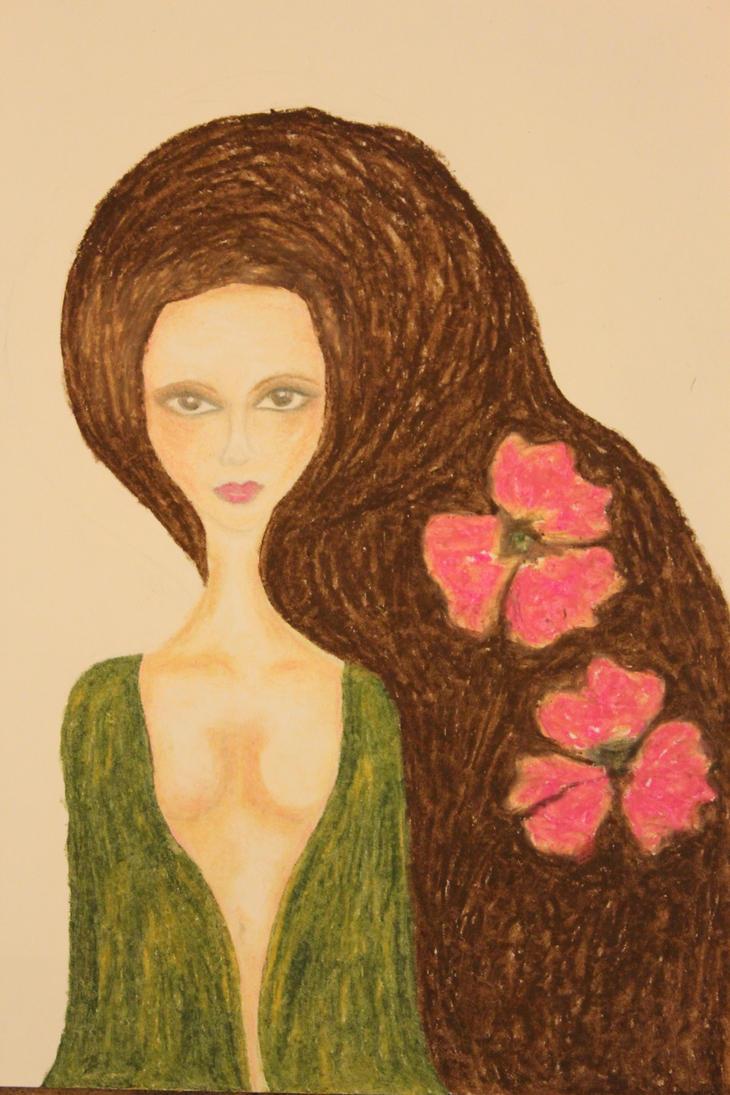green dress by ahhsummer