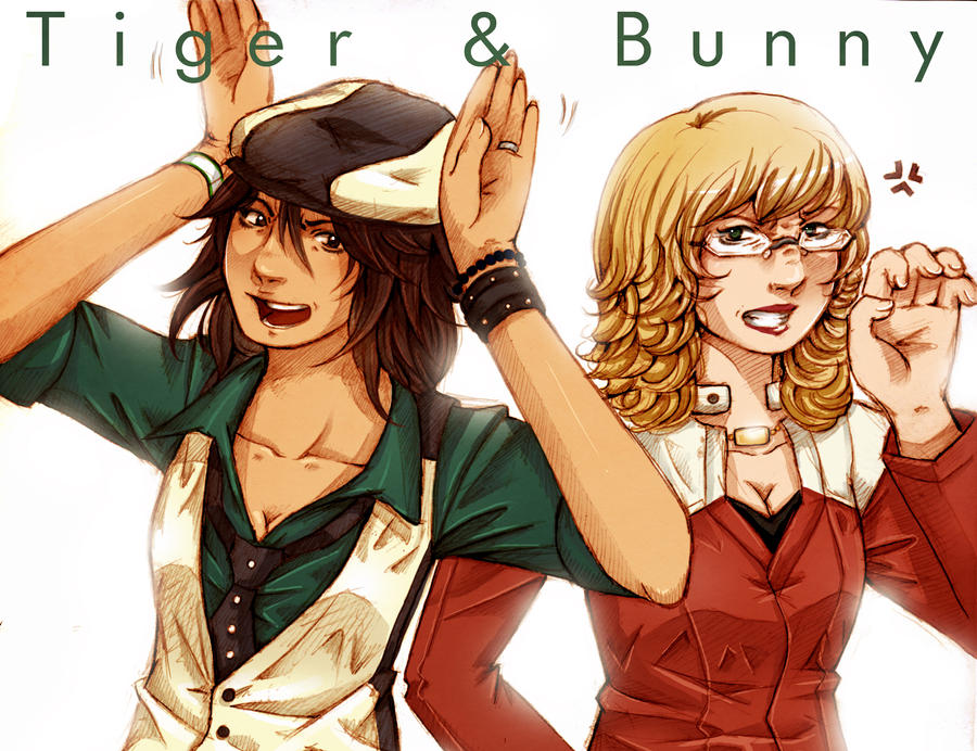 Tiger and Bunny genderbend by Sukai-yume