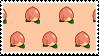 peaches by princerini