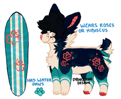 rose surfer, auction closed! by princerini
