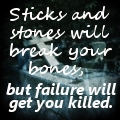 Sticks and Stones by HCross9820