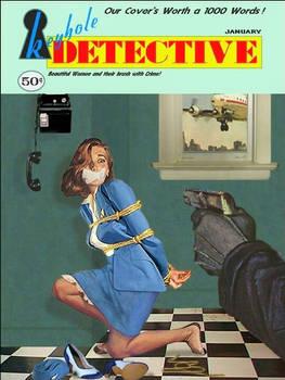 Detective Magazine Stewardess Bondage