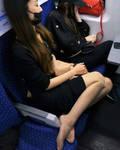 Asian Pantyhose Passenger