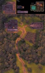 Pathfinder Maps: Graul Homestead at Dawn