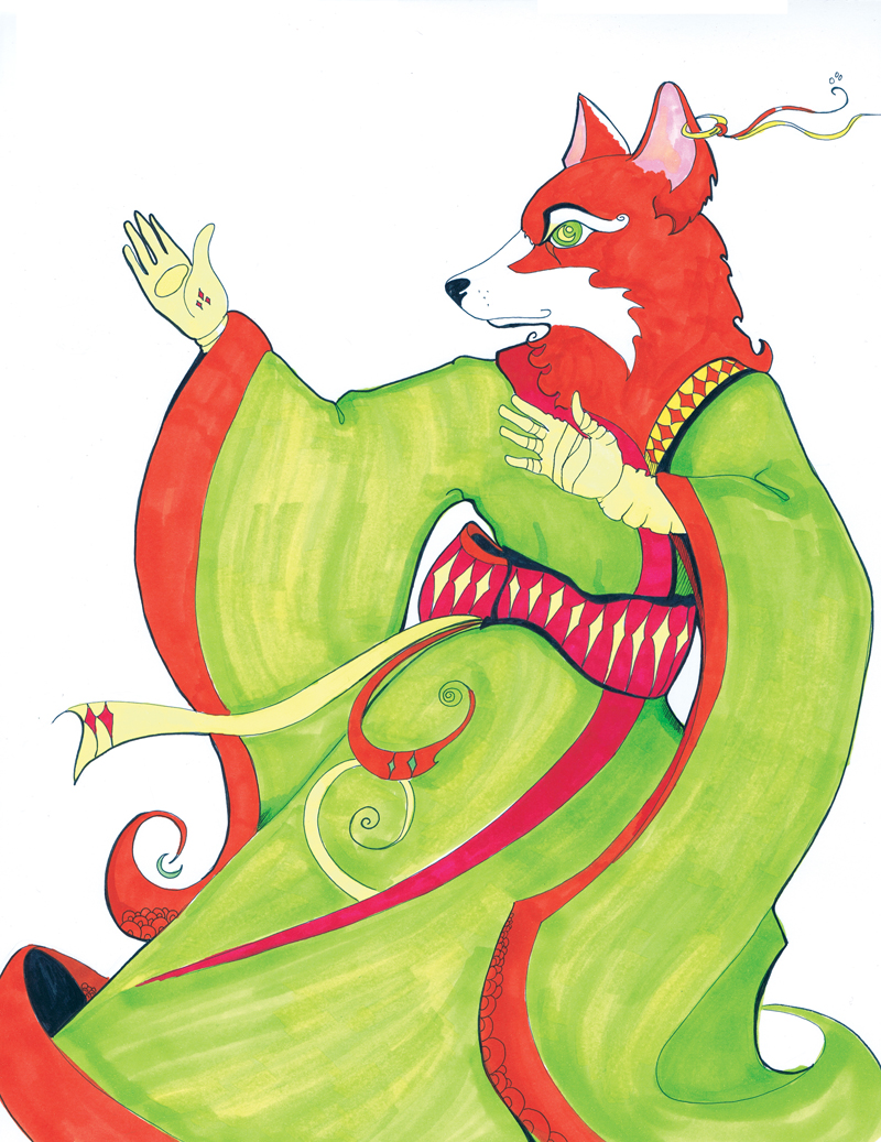 Fox Warrior by remdesigns