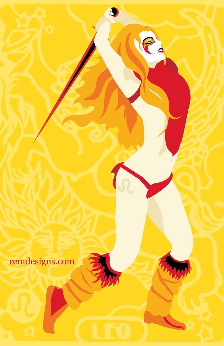 Leo Zodiac by remdesigns