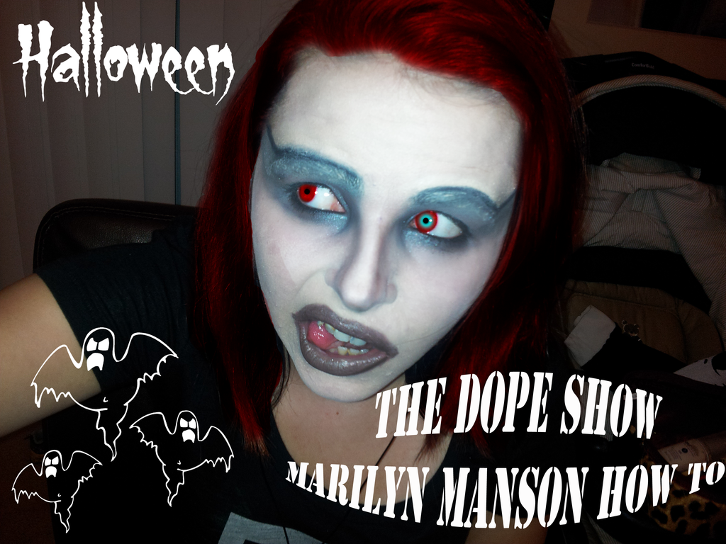 HOW TO Marilyn Manson Halloween look by KarissaMcGovern on DeviantArt