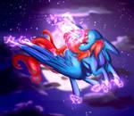 Flying (C) w/ speedpaint by crazllana