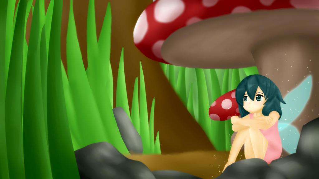 Mushrooms... I Want by Jehrald