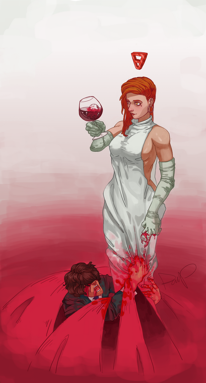 Bloody Witch by DanielValerian