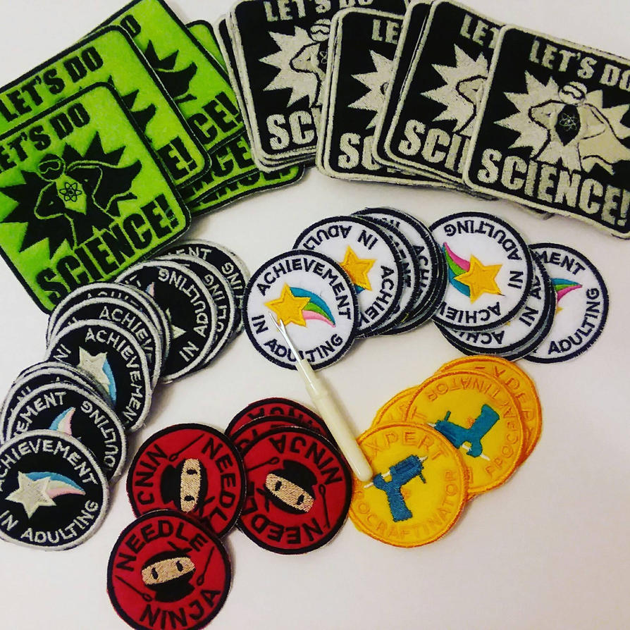 Embroidered Patches And Badges By MechanicalApple On DeviantArt