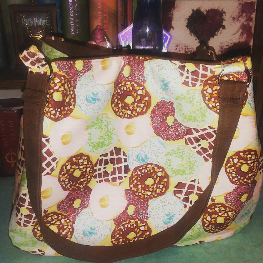 Delicious donuts shoulder bag by MechanicalApple