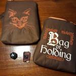 Critical Role themed dice bag - Caleb