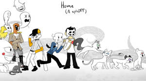 Home: A SpinOFF Wallpaper
