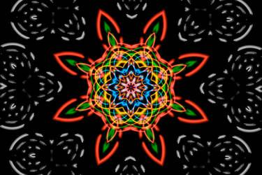 Color Chaos - The Mandala by Nestor2k