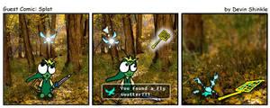 Guest Comic Splat by Nestor2k