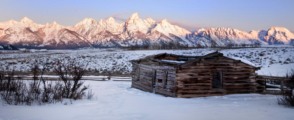 Winter Tetons by Nestor2k