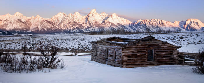 Winter Tetons