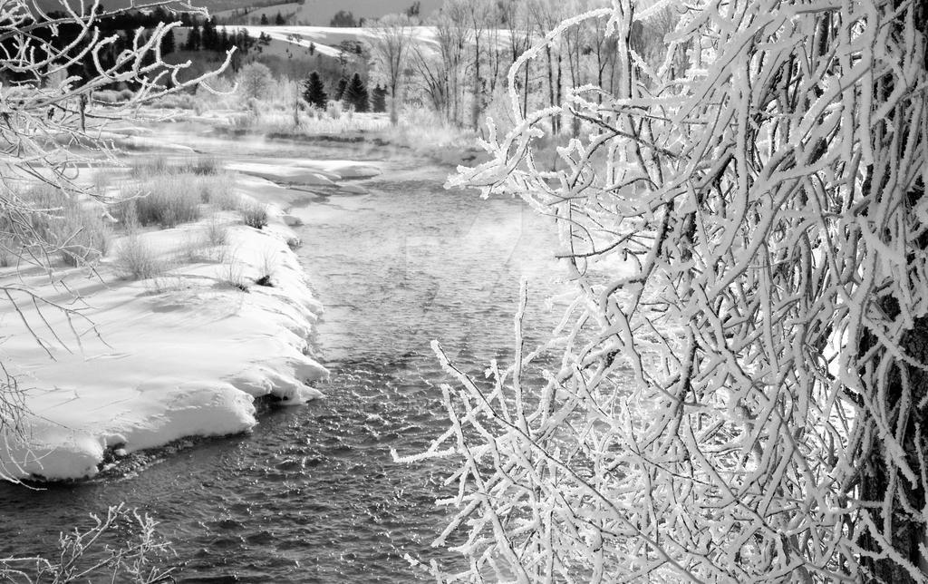 Frosty Gros Ventre River by Nestor2k