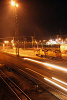 Midnight Train Yard by Nestor2k