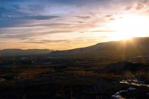 Sunset of Rock Bottom by Nestor2k