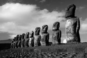 Easter Island: Tongariki Moai by Nestor2k