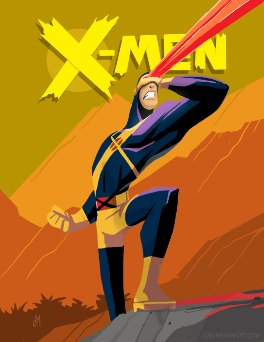 Cyclops Faux Cover by joeymasonart