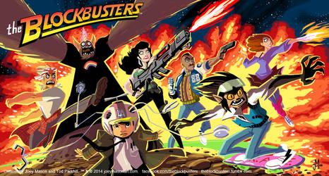 The Blockbusters! Box Art