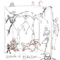 stick figure madness by dypsomaniart