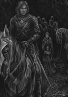 dark riders by dypsomaniart