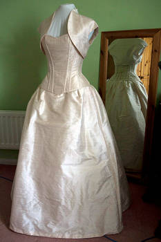 Blush Silk Gown