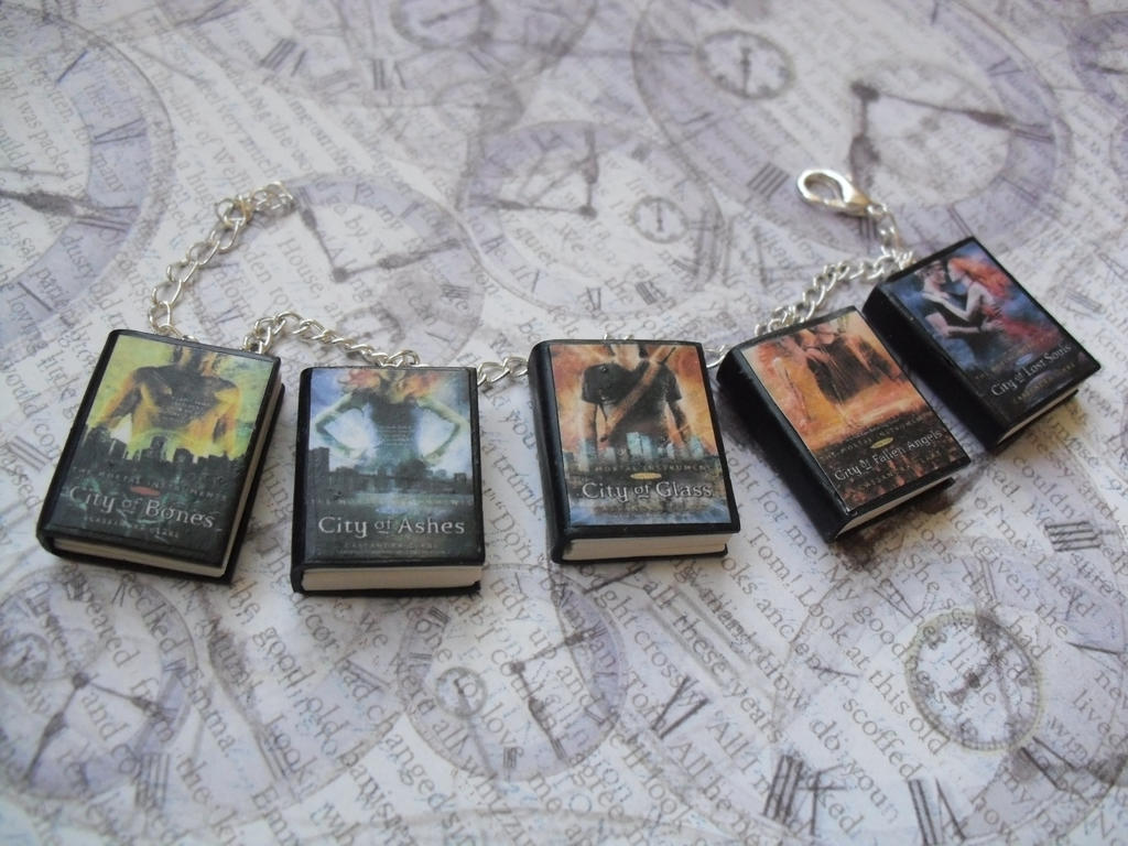 how to make book charms