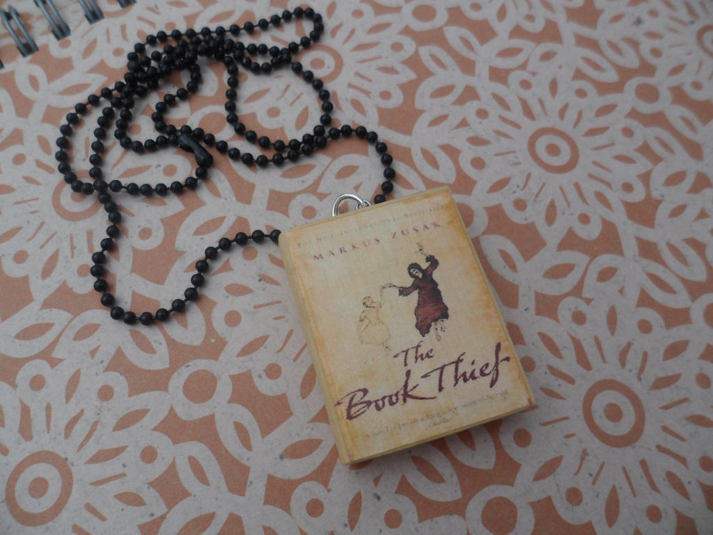 The Book Thief necklace by InsaneJellyBean95 on DeviantArt