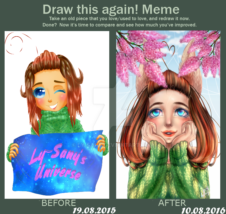 Draw this again meme by Ly-sany