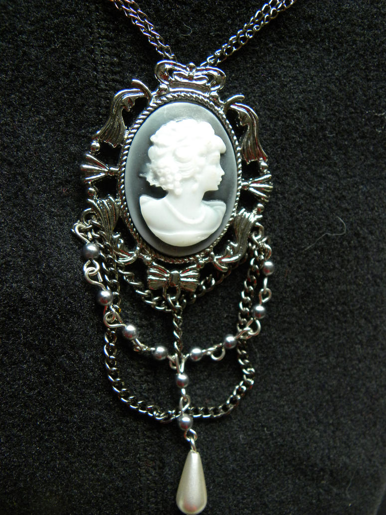 gothic black necklace co devilnight uk victorian vintage