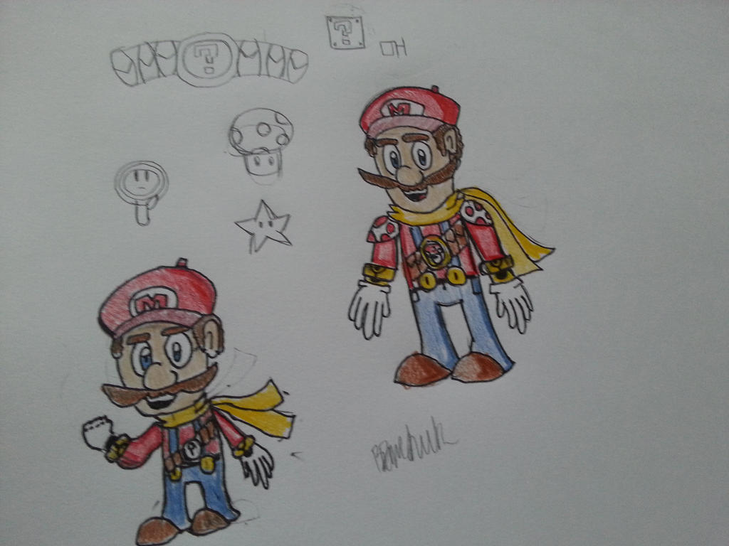 Super Mario Redesign. by OogaHooga